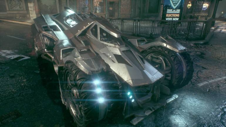 002 Arkham Knight Batmobile