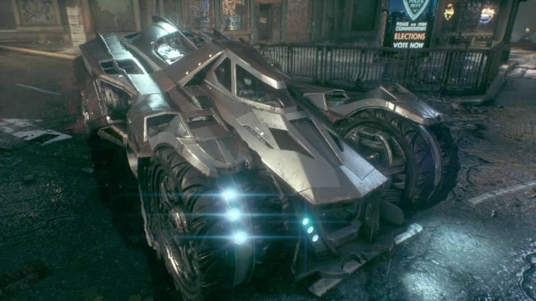 002 Arkham Knight Batmobile