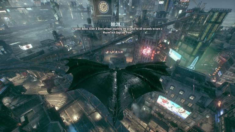 003 Arkham Knight Gliding
