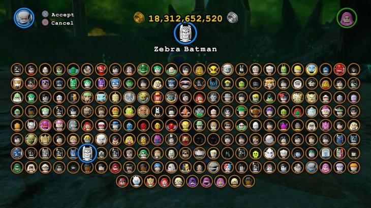 003 Lego Batman characters